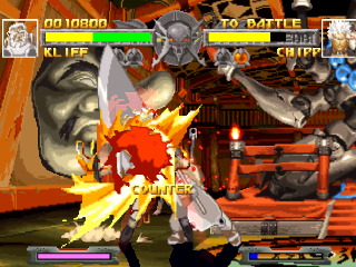 Awesome Battle From Guilty Gear PS1